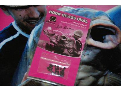 LK Baits Hook Beads Oval green  + Sleva 10% za registraci