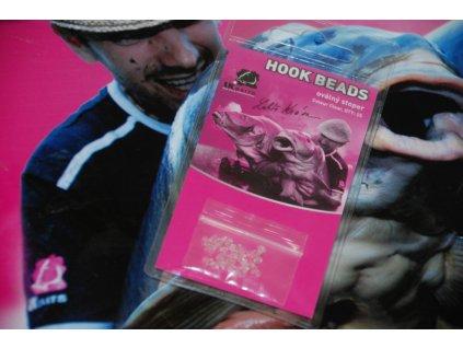 LK Baits Hook Beads Oval Clear  + Sleva 10% za registraci