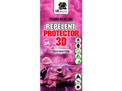 LK Baits Repelent Protector 3D - Tekutá moskytiéra 90ml  + Sleva 10% za registraci