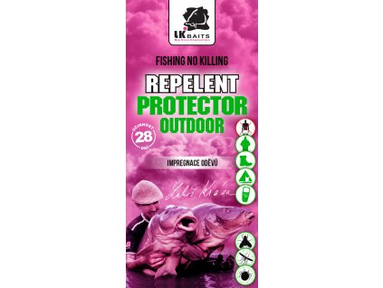 LK Baits Repelent Protector Outdoor - Impregnace oděvů 90ml  + Sleva 10% za registraci