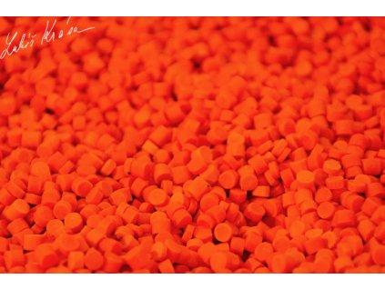 LK Baits Fluoro Pellets Compot NHDC 1kg, 4mm  + Sleva 10% za registraci