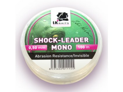 LK Baits šokový vlasec Shock-Leader Mono 0,50mm 100m  + Sleva 10% za registraci