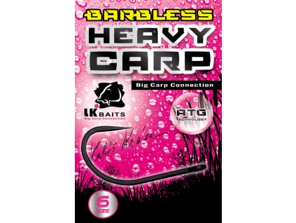 LK Baits háčky bez protihrotu Heavy Carp Barbless vel. 6  + Sleva 10% za registraci