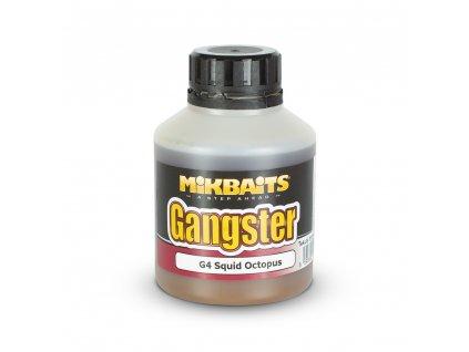 Mikbaits Gangster booster 250ml - G4 Squid Octopus  + Sleva 10% za registraci