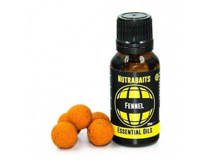 Nutrabaits esenciální oleje - Fennel 20ml  + Sleva 10% za registraci