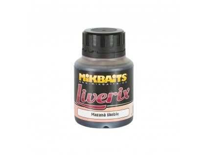 Mikbaits Liverix dip 125ml - Mazaná škeble  + Sleva 10% za registraci