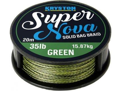 Kryston pletené šňůrky - Super Nova solid braid pískový 15lb 20m  + Sleva 10% za registraci