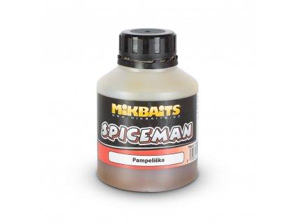 Mikbaits Spiceman booster 250ml - Pampeliška  + Sleva 10% za registraci