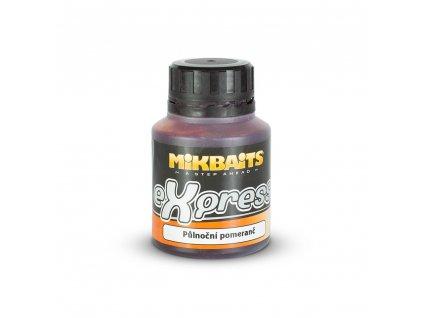 Mikbaits eXpress dip 125ml - Půlnoční pomeranč  + Sleva 10% za registraci