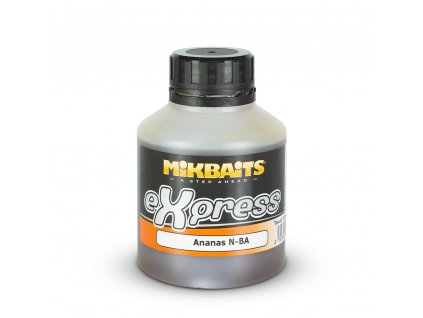 Mikbaits eXpress booster 250ml - Ananas N-BA  + Sleva 10% za registraci