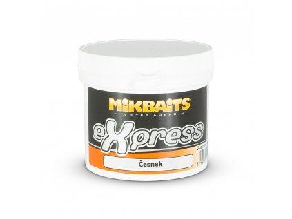 Mikbaits eXpress těsto 200g - Česnek  + Sleva 10% za registraci