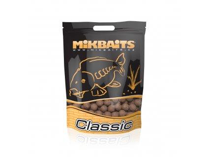 Mikbaits big pack - Trvanlivé X-Class boilie 20kg Oliheň 20mm  + Sleva 10% za registraci + ZDARMA kaprové háčky