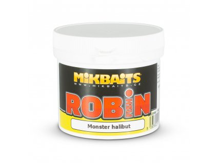 Mikbaits Robin Fish těsto 200g - Monster halibut  + Sleva 10% za registraci