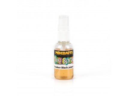 Mikbaits Pop-up spray 30ml - Broskev Black pepper  + Sleva 10% za registraci