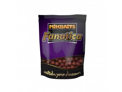 Mikbaits Fanatica boilie 900g - Oliheň Black pepper Asa 24mm  + Sleva 10% za registraci