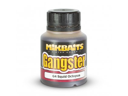 Mikbaits Gangster dip 125ml - G4 Squid Octopus  + Sleva 10% za registraci