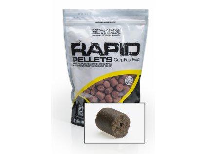 Mivardi Pelety Rapid Extreme - Enzymatic Protein 4mm 1 kg