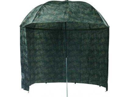 Mivardi Deštník Camou PVC s bočnicemi  + Sleva 10% za registraci + ZDARMA kaprové háčky