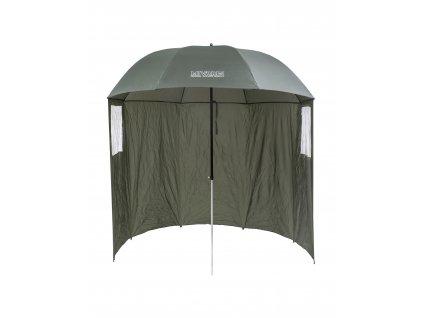 Mivardi Deštník s bočnicemi Easy  + ZDARMA Zfish teflonové háčky Wide Gape