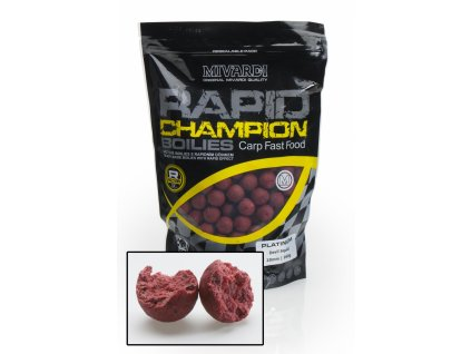 Mivardi Boilies Rapid Champion Platinum - Devil Squid  + Sleva 10% za registraci
