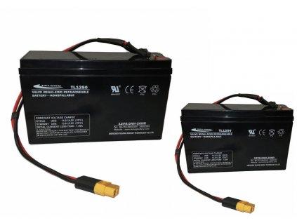 Mivardi Náhradní baterie pro zavážecí lodičku Carp Scout - LA 10Ah (set)  + Sleva 10% za registraci + ZDARMA kaprové háčky