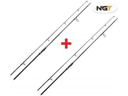NGT Kaprový prut Dynamic Carp Black 12ft 3lb AKCE 1+1 ZDARMA!  + Sleva 10% za registraci + ZDARMA Boilies Boss2 MAGIC Slunečnice - 200 g/20 mm