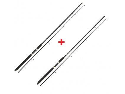 NGT Prut Carp Stalker Rod 8ft/2pc black 1+1 ZDARMA!  + Sleva 10% za registraci