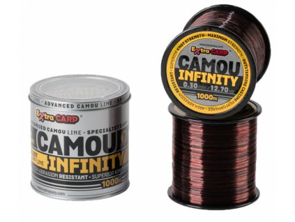 Extra Carp Vlasec Infinity Camou 1000m  + Sleva 10% za registraci