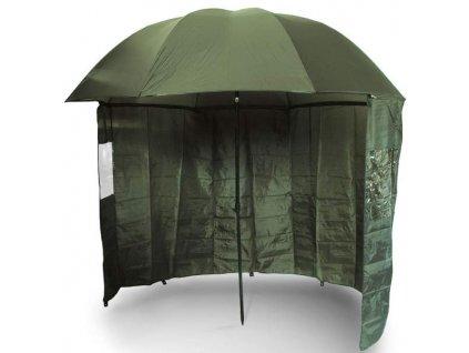 NGT Deštník s Bočnicí Brolly Side Green 2,2m  + Sleva 10% za registraci
