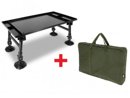 NGT Stolek Dynamic Bivvy Table + Obal Zdarma!  + Sleva 10% za registraci + ZDARMA kaprové háčky