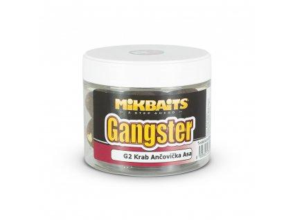 Mikbaits Gangster extra hard boilie - G2 Krab Anča Asa  + Sleva 10% za registraci