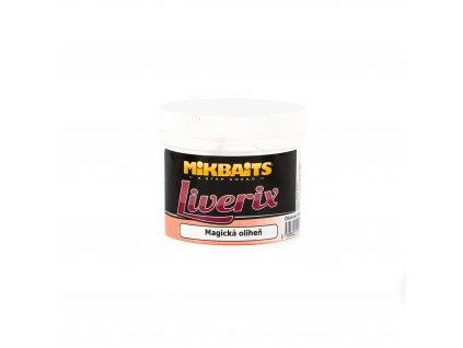 Mikbaits Liverix těsto 200g - Magická oliheň  + Sleva 10% za registraci