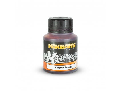 Mikbaits eXpress dip 125ml - Scopex Betain  + Sleva 10% za registraci