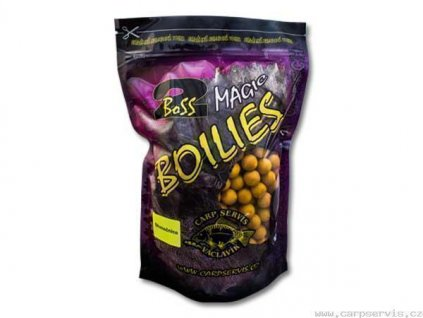 Boilies Boss2 MAGIC Slunečnice - 200 g/20 mm  + Sleva 10% za registraci