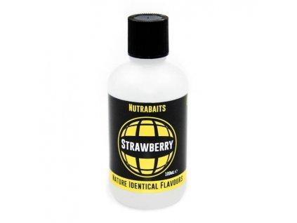 Nutrabaits tekuté esence natural - Strawberry 100ml  + Sleva 10% za registraci