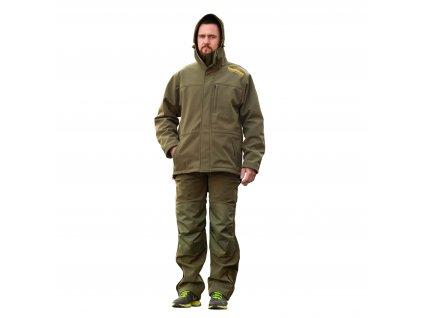 Mikbaits oblečení - Nepromokavá funkční bunda STR zelená  + Sleva 10% za registraci