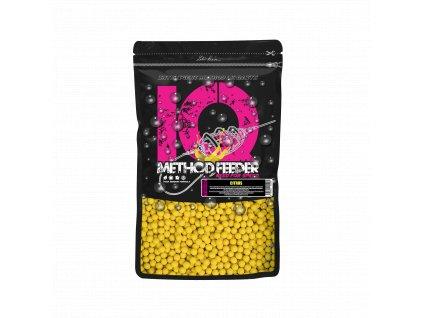 LK Baits IQ Method Feeder Fluoro Boilies 10-12mm,600g Citrus  + Sleva 10% za registraci