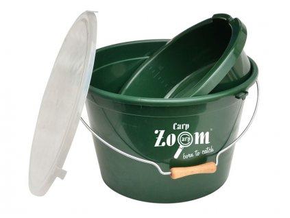 Carp Zoom Set kbelík + miska + víko  + Sleva 10% za registraci