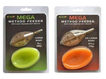 ESP krmítko s formičkou Mega Method Feeder  Mould 56g Large  + Sleva 10% za registraci