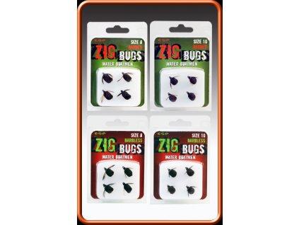 ESP nástrahy Zig Bug vel. 8 Barbless  + Sleva 10% za registraci