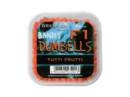 Drennan nástrahy F1 Dumbells 6mm Tutti Frutti  + Sleva 10% za registraci