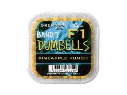 Drennan nástrahy F1 Dumbells 6mm Pineapple Punch  + Sleva 10% za registraci