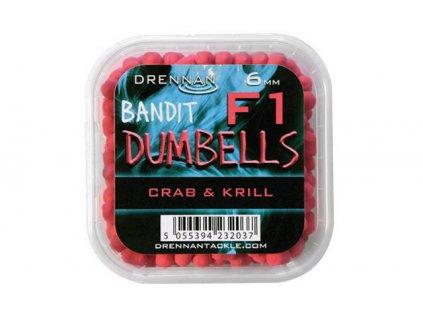Drennan nástrahy F1 Dumbells 6mm CrabKrill  + Sleva 10% za registraci