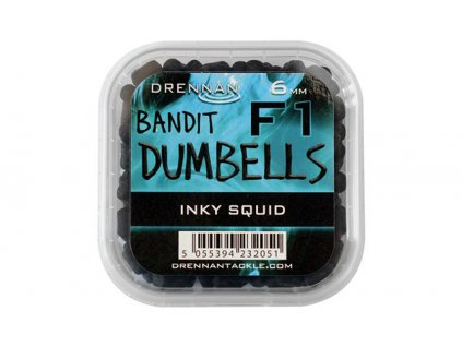 Drennan nástrahy F1 Dumbells 6mm Inky Squid  + Sleva 10% za registraci