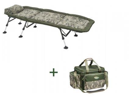 AKCE - Lehátko Stealth Flat6 + ZDARMA Kaprařská taška Stealth