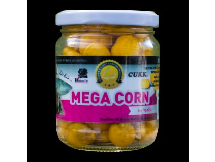 LK Baits obří kukuřice Mega Corn Ice Vanilla 220ml  + Sleva 10% za registraci