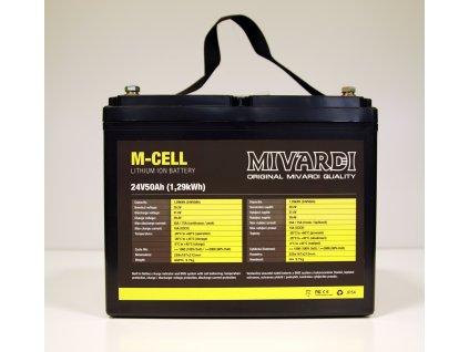 Mivardi Lithiová baterie M-CELL 24V  + Sleva 5% za registraci