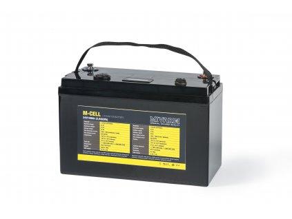 Lithiová baterie M-CELL 24V 100Ah  + Sleva 10% za registraci + ZDARMA Spomb zakrmovací raketa Midi