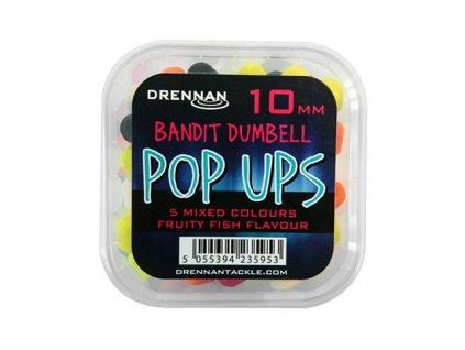Drennan plovoucí nástrahy Bandit Dumbell Pop Ups 10mm  + Sleva 10% za registraci