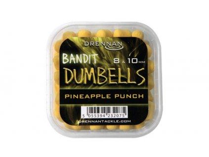 Drennan nástrahy Bandit Dumbells 8 & 10 mm Pineapple Punch  + Sleva 10% za registraci
